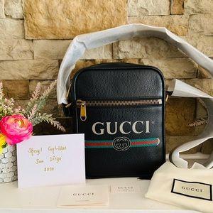 ✨Brand New✨ Gucci Print Messenger Bag
